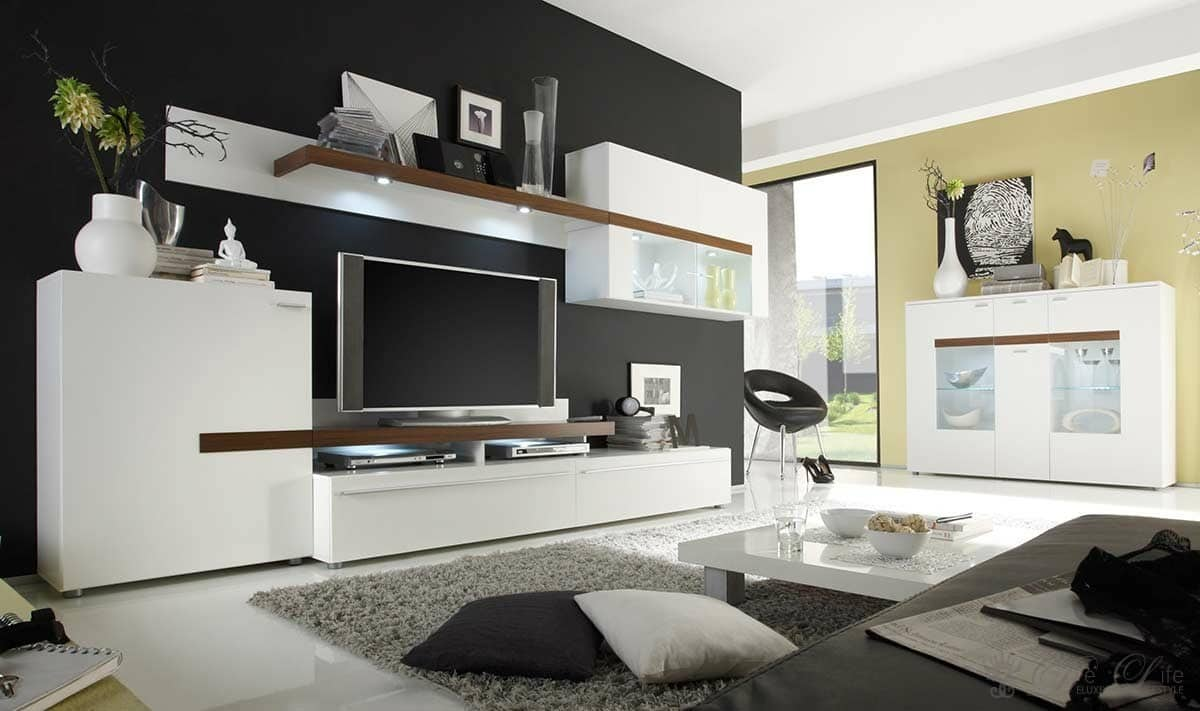 wohnzimmer bilder modern. Black Bedroom Furniture Sets. Home Design Ideas