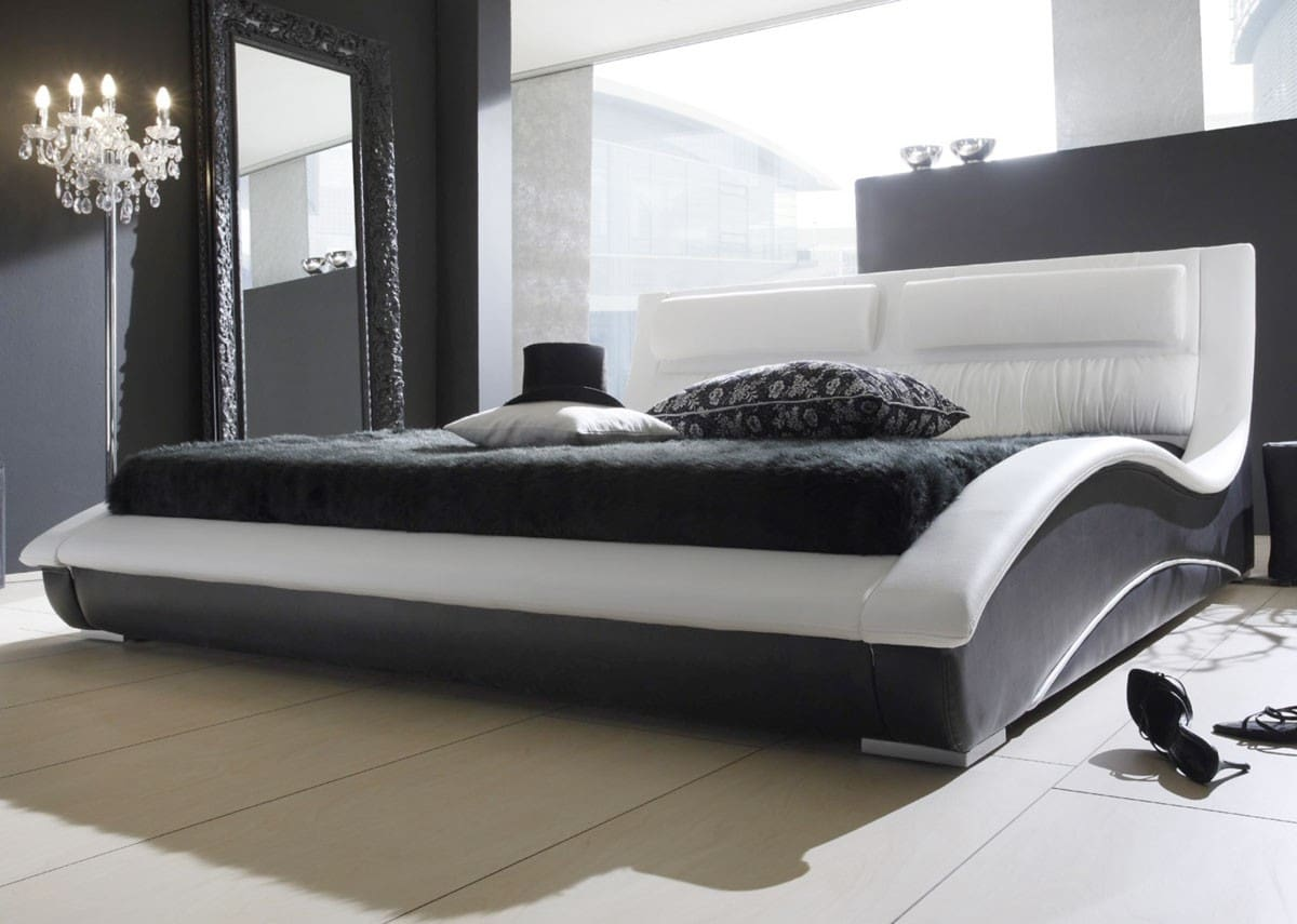bett wei modern. Black Bedroom Furniture Sets. Home Design Ideas
