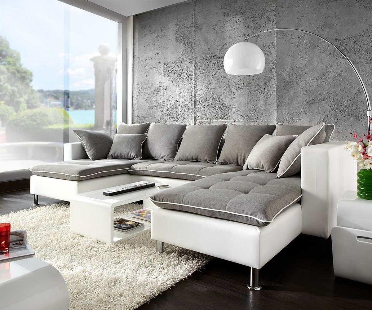 couch benno weiss hellgrau sofa mit schlaffunktion und bettkasten. Black Bedroom Furniture Sets. Home Design Ideas