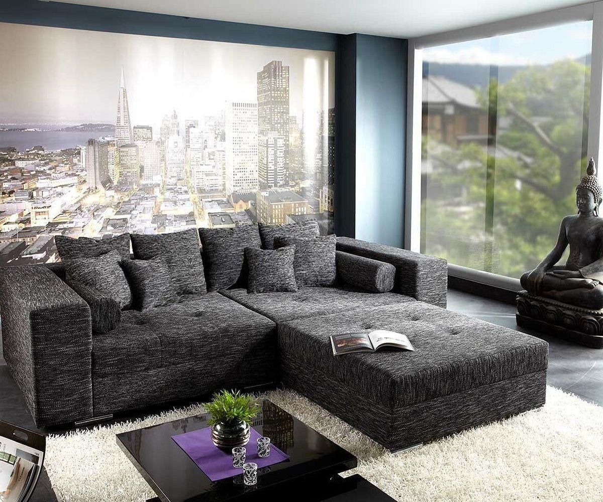 Breites sofa  Wohnzimmerz: Breites Sofa With Sofa Lavello Couch SchwarzMit ...